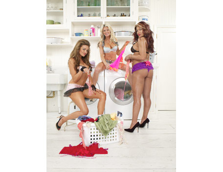 Melina Photoshoot Flashback