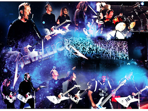 Metallica wallpaper containing a concert and a guitarist titled Metallica