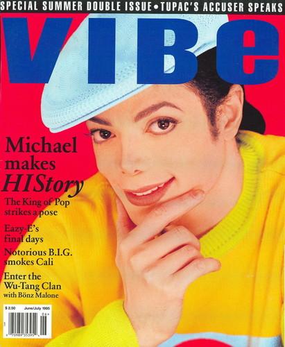 Michael 1995 VIBE Cover Shot