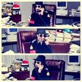 Michael At The Office - michael-jackson photo
