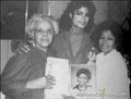 Michael With  His Mother And Maternal Grandmother - michael-jackson photo