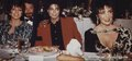 Michael With His Two Friends, Liza Minelli and Dame Elizabeth Taylor - michael-jackson photo