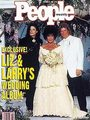 "Michael and Elizabeth Taylor On The 1991 Cover Of ""People"" - michael-jackson photo"