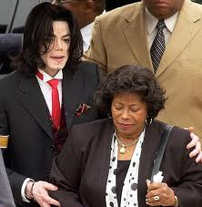 Michael and His Mother Katherine