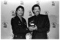 Michael and Lionel Richie - michael-jackson photo