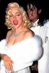 Michael and ম্যাডোনা