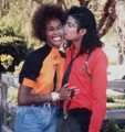Michael and Whitney - michael-jackson photo