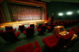 Michael's Private Movie Theatre At Neverland Ranch
