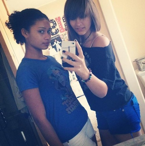Michaela Blanks and Paris Jackson ♥
