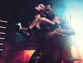 Michale Fassbender and Charlize Theron in W magazine