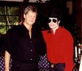 Micheal And Former Manager, Deiter Weisner - michael-jackson photo