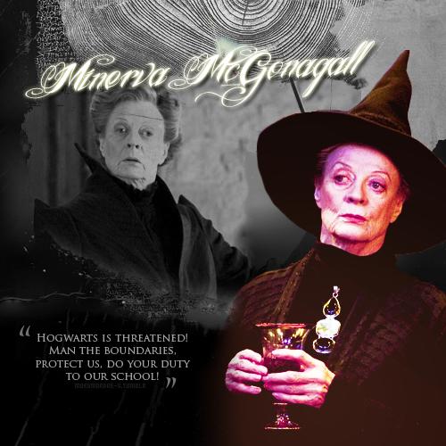 minerva mcgonagall harry potter fan art fanpop