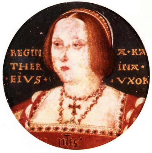 Miniature of Queen Katherine