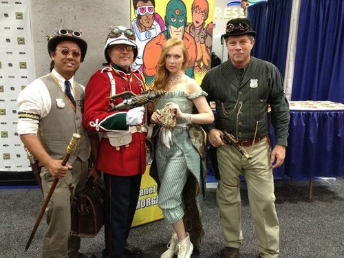 molly quinn 바탕화면 with a 청새치, 스피어 피쉬 and a lippizan entitled Molly Quinn Comic Con 2012