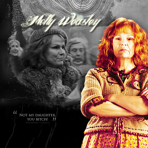 Harry Potter kertas dinding containing a konsert titled Molly Weasley