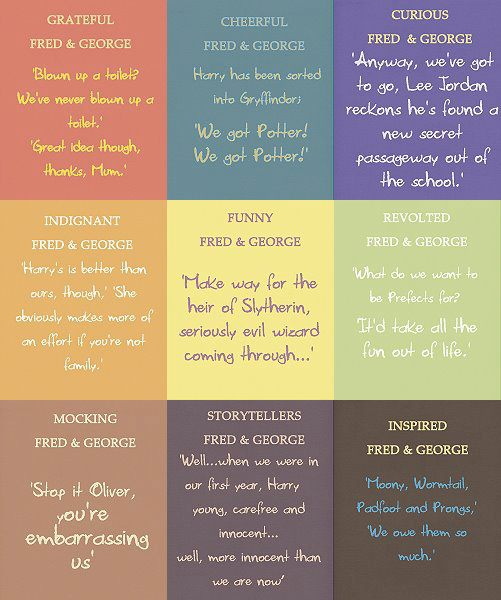 Moods of Fred and George