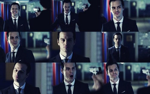 Moriarty in 'The Great Game'