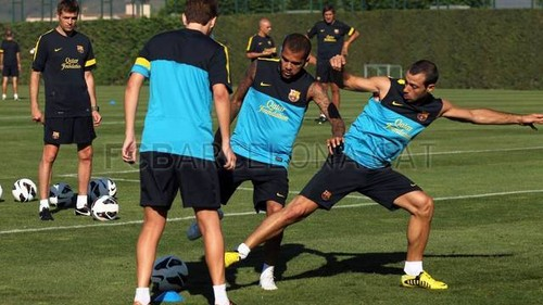 Morning Session - fc-barcelona Photo