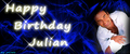 My Birthday banner