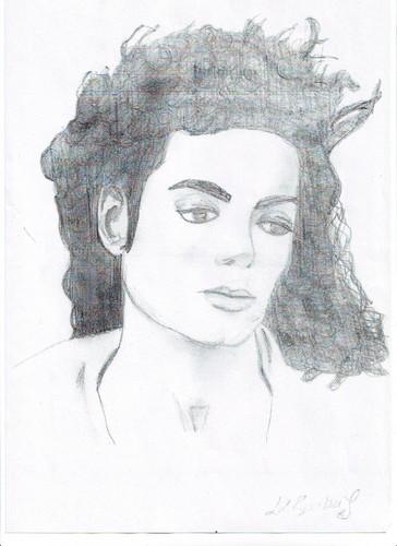 My Michael Jackson Sketch No2