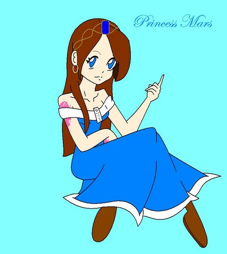 My OC Princess Mars