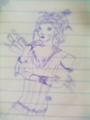 My drawing of mrs.Lovett.:)