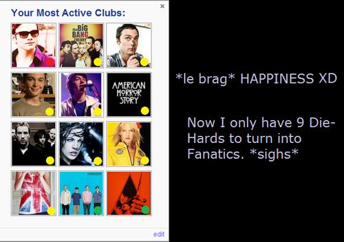 My most active کلب (5) - I'm so freakjkajskjakin happy!
