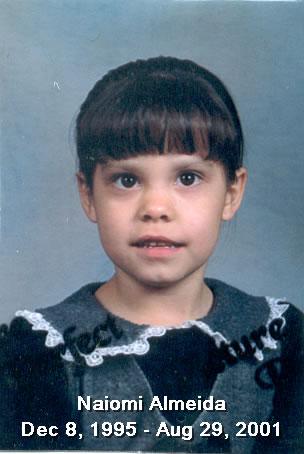 Naomi Turner Almeida (1995 - 2001)