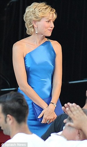 Naomi Watts as Princess Diana