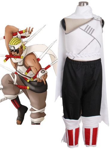 नारूटो Killer Bee Cosplay Costume