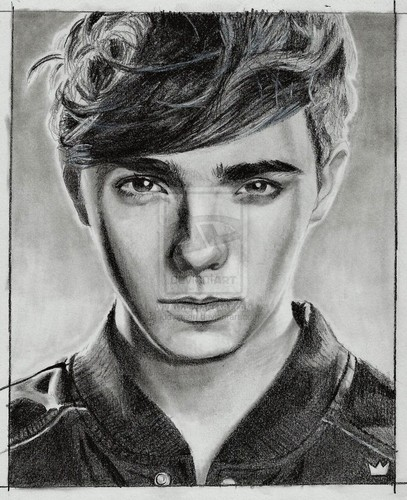 Nathan Sykes drawing <3