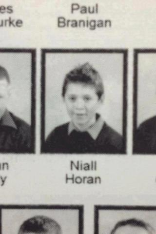 Niall yearbook picture