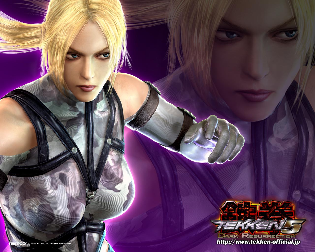 tekken 5 images nina hd wallpaper and background photos (31518971)