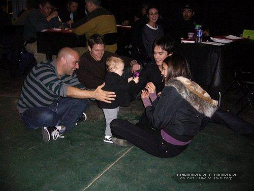 Old Nian Picture On Set with M Siega