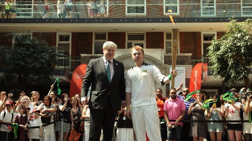 Olympic Torch Relay, 25 July 2012  - rupert-grint Photo