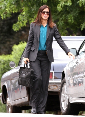 On Set [July 20, 2012] - sandra-bullock Photo