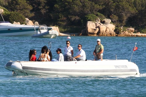 On Vacation Tour In Porto Cervo [17 July 2012]
