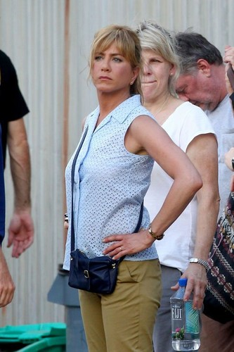 "On the Set of ""We're the Millers"" [July 25, 2012]"