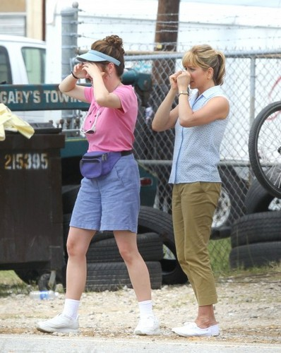 """On the Set of """"We're the Millers"""" [July 25, 2012]"""