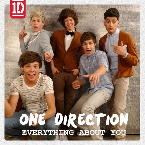 One Direction - Everything About u (CD Single) Fanmade