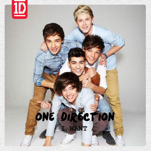 One Direction - I Want (CD Single) Fanmade