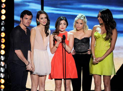 PLL Cast at TCA 2012