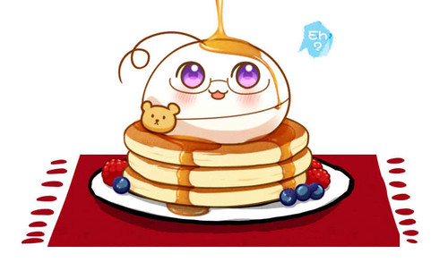 パンケーキ and メープル, カエデ syrup! What are we waiting for? Bon appetit!
