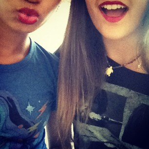 Paris: red lips (;