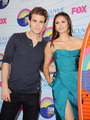 Paul-Nina @TCA 2012 - paul-wesley-and-nina-dobrev photo