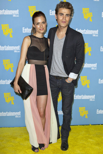 Paul and Torrey at Comic Con - Entertainment Weekly Celebration (July 14th, 2012)