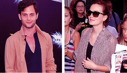 Penn and Leighton at The Dark Knight Rises Premiere 16th July 2012
