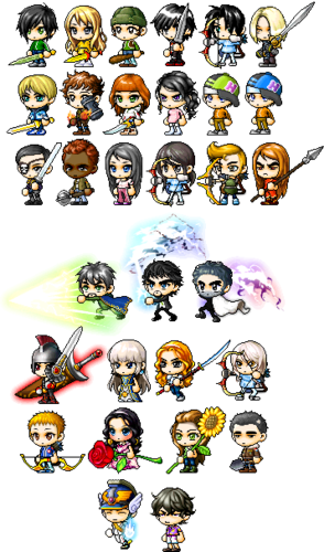 The Heroes of Olympus achtergrond called Percy Jackson MapleStory characters
