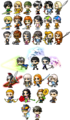 Percy Jackson MapleStory characters