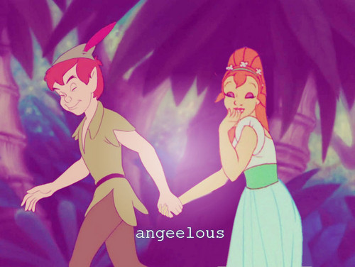 Peter & Thumbelina^^.